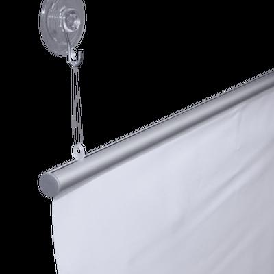 "Our Aluminum Keder Profile Dia. 0.6"" Hanging Set can be used to mount the Aluminum Keder Profile - Dia. 0.6"""
