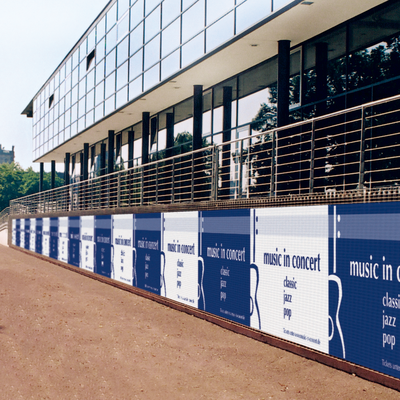 Fence Wraps are an effective advertising tool for large-format advertising