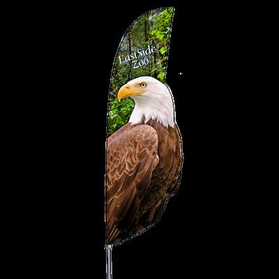 Eagle design custom shape