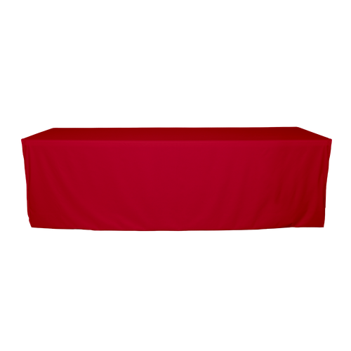Red option of the table cover