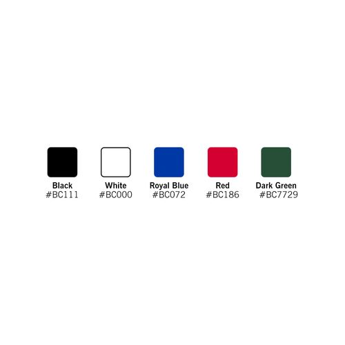 Most walls are available in different colors
