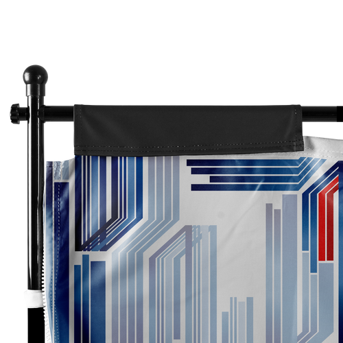 Tent Wall sides feature hook-and-loop tabs that wrap around the vertical poles of the frame