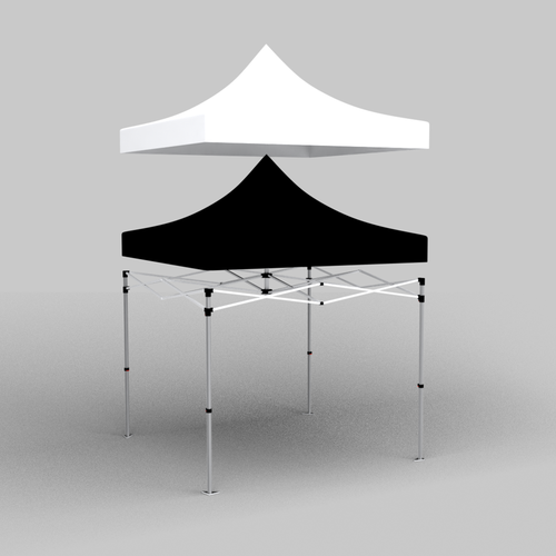3D sketch of how the tent liner works