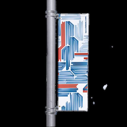 Custom Light Pole Banner