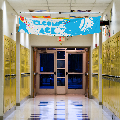 The perfect option for hallways and street-wide advertisements